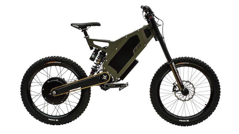 Rower elektryczny Stealth Electric Bikes
